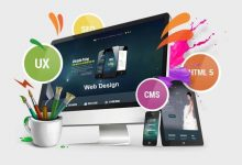 تصویر از طراحی وب سایت